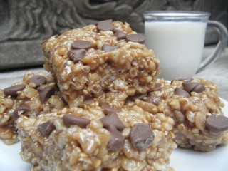 Easy and Healthy Rive Crispy Bars