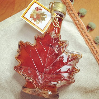 Any syrup that is bottled like this... is a friend of mine.