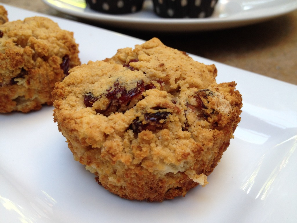 Cran Apple Paleo Muffins