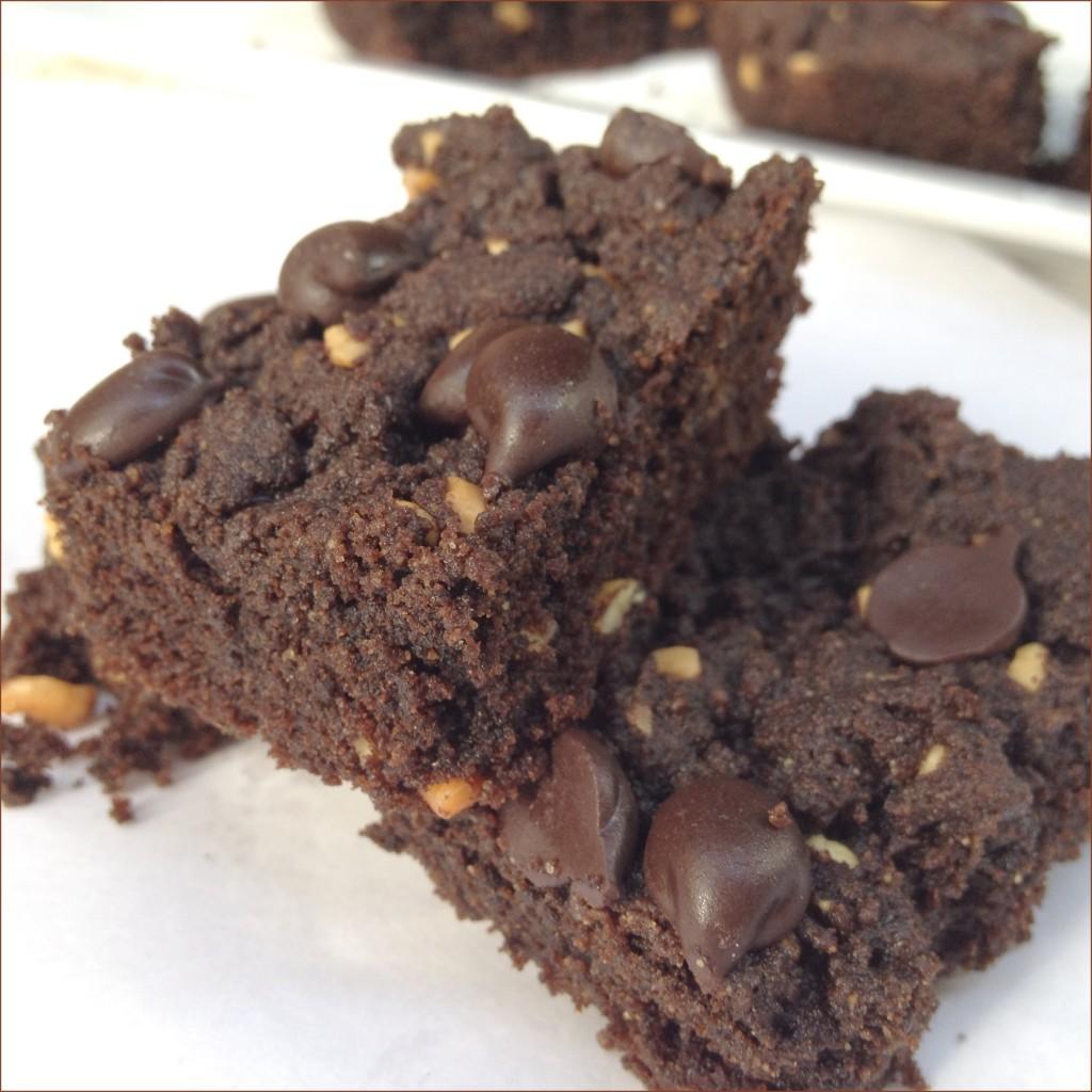 Grain Free Chocolate Peanut Butter Brownies